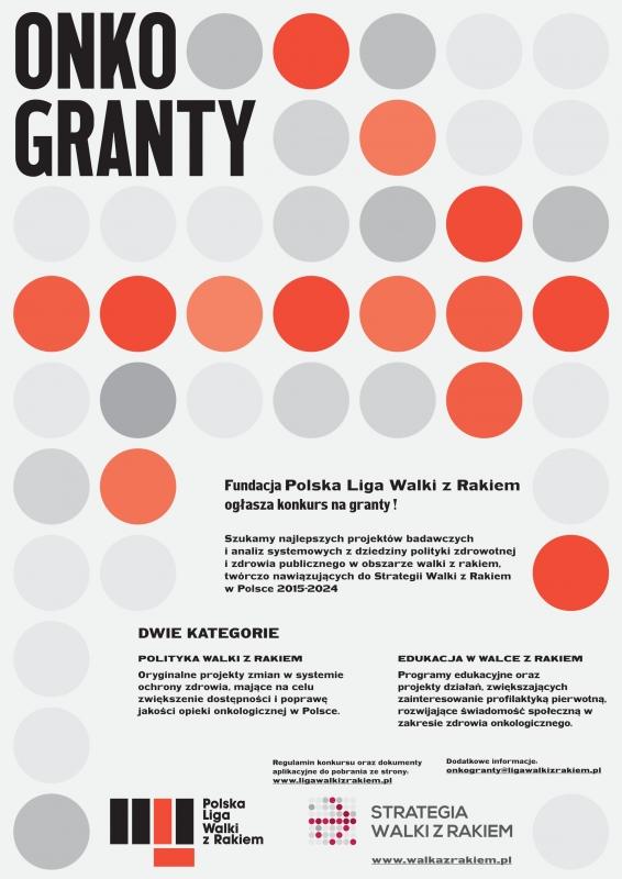 Onkogranty - plakat
