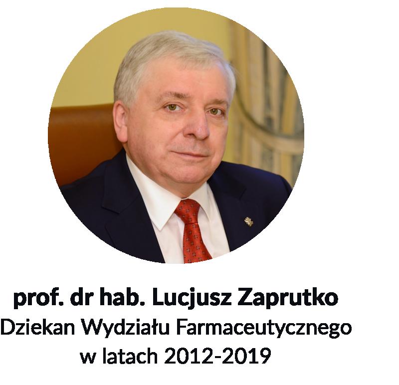 Prof. Lucjusz Zaprutko - zdjęcie