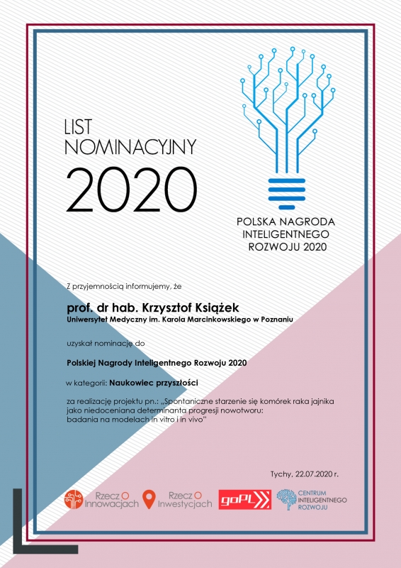List nominacyjny 2020