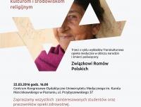 """Wykład z cyklu """"Transkulturowa opieka medyczna w obliczu narodzin i śmierci"""" - Związek Romów Polskich"""