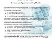 """Biała Sobota dla Seniorów - """"Bądź sprawny"""""""