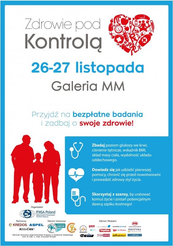 Zdrowie pod Kontrolą - plakat