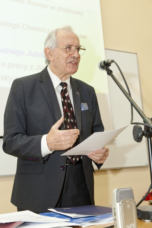 Jubileusz 90-lecia urodzin profesora Dzierżykraja Dionizego Skwarskiego