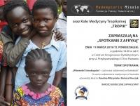 """Spotkanie z Afryką: """"Witwande? Umudugudu? - czyli nasza codzienność w Rushakach"""""""