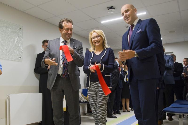 Otwarcie nowego Oddziału Kardiochirurgii Dziecięcej