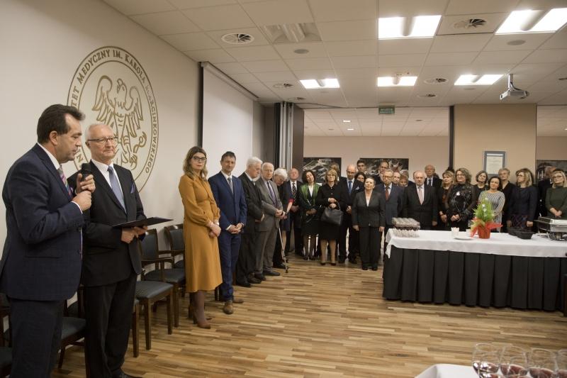 Spotkanie przedświąteczne Wydziału Wydziału Lekarskiego
