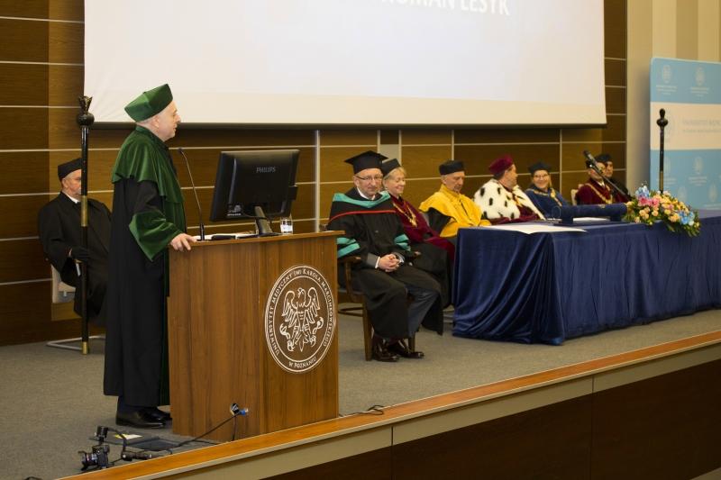 Doktor honoris causa - prof. Roman Lesyk