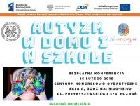 """Konferencja """"Autyzm w domu i w szkole"""""""