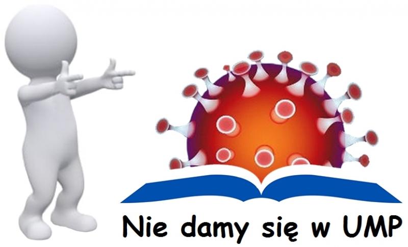 Logo z napisam Nie damy się w UMP