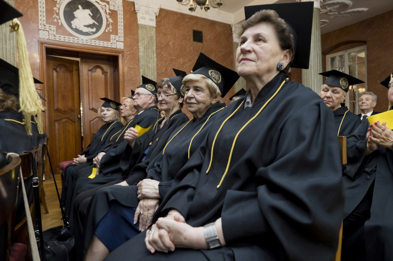 Odnowienie dyplomów po 50 latach - Wydział Farmaceutyczny