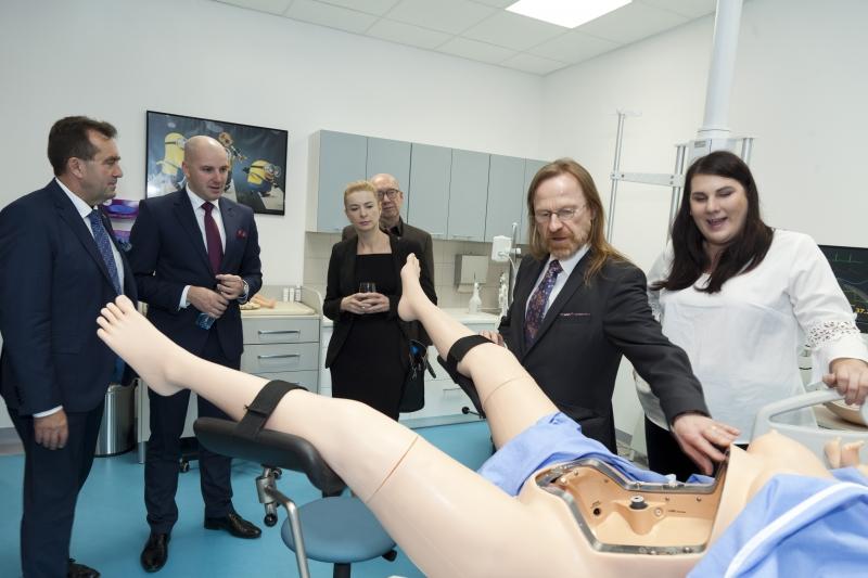 Otwarcie Centrum Symulacji Medycznej Otwarcie Centrum Symulacji Medycznej