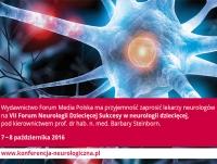 """VII Forum Neurologii Dziecięcej """"Sukcesy w neurologii dziecięcej"""""""