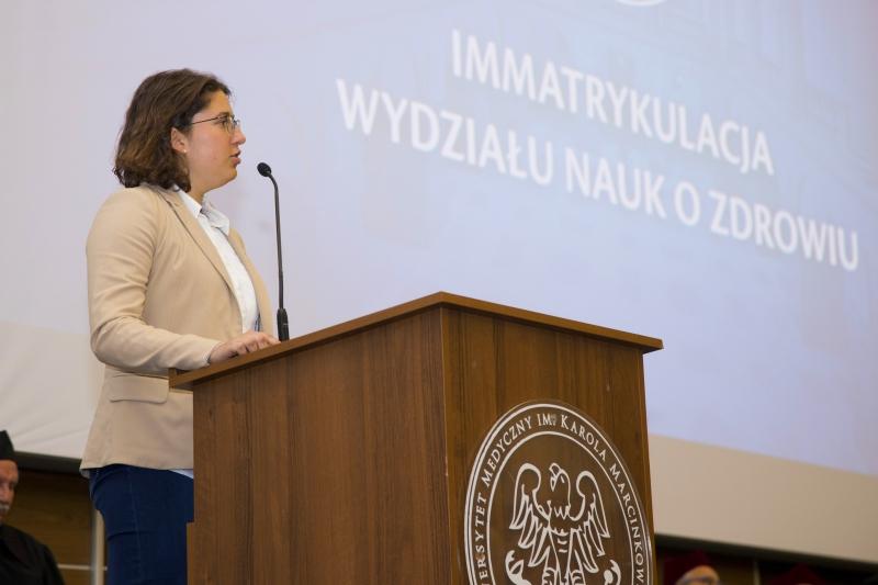 Immatrykulacja - Wydział Nauk o Zdrowiu
