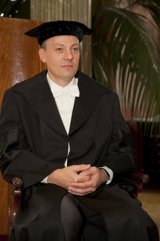 Doktor Honoris Causa - prof. Olivier Kayser