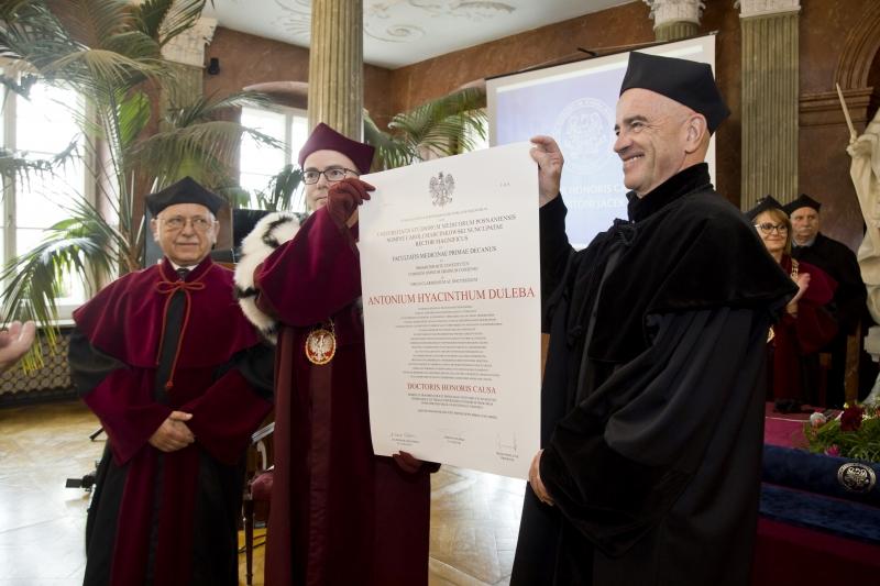 Doktor honoris causa - prof. Antoni Jacek Duleba