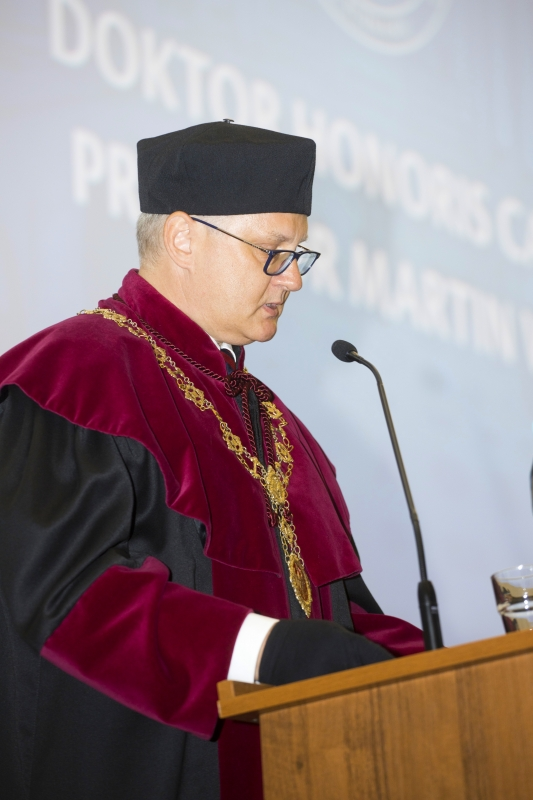 Doktor honoris causa - prof. Martin Witt