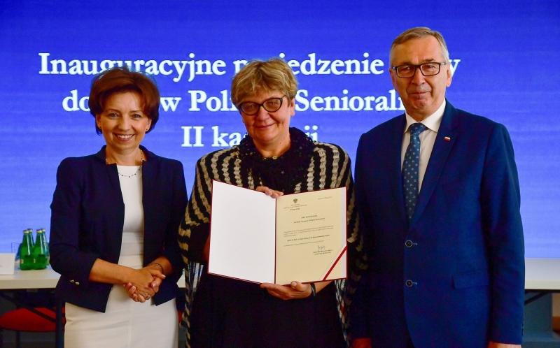 Marleny Maląg, Katarzyna Wieczorowska-Tobis, Stanisław Szwed