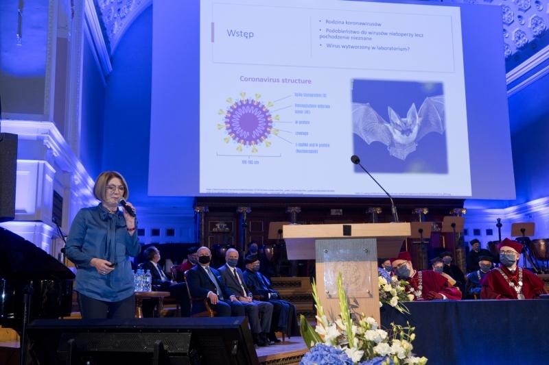 Wykład inauguracyjny - prof. Iwona Mozer-Lisewska