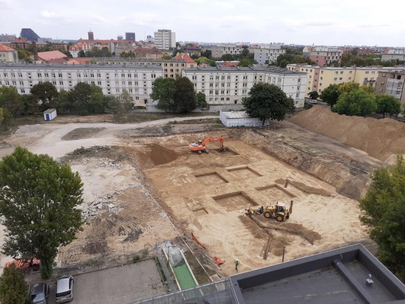 Zdjęcię z budowy